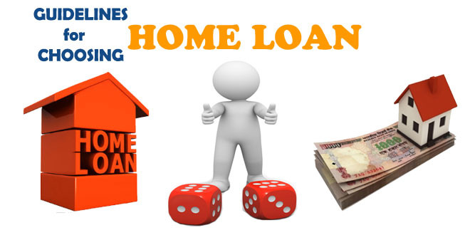 Choosing the best home loan